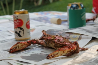 Crab Feast, Baltimore by Gretchen Kast