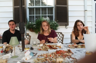 Crab Feast, Baltimore by Evan Cohen